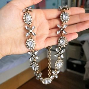 Beautiful antique style statement necklace
